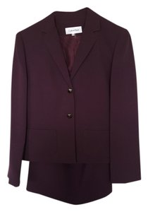 Calvin Klein Brand New Purple Calvin Klein Skirt Suit