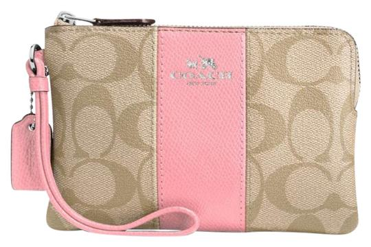 Preload https://img-static.tradesy.com/item/21326196/coach-corner-zip-signature-with-light-khaki-blush-coated-canvas-leather-trim-wristlet-0-1-540-540.jpg