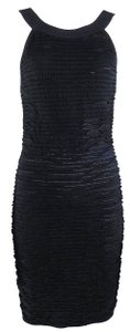 Chanel Classic Vintage Textured Stretchy Dress