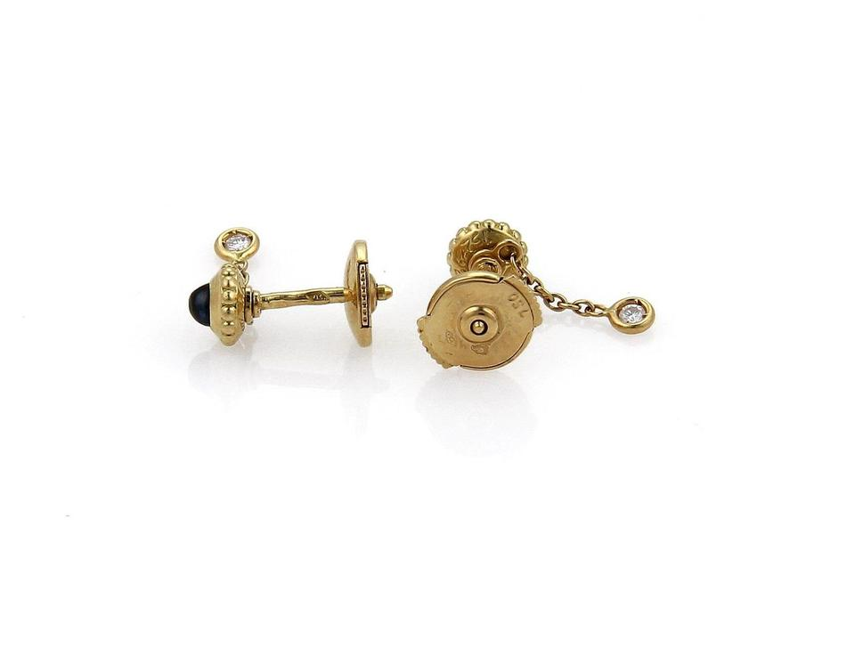 f169dea14e2ce Cartier Yellow Gold & Blue Sapphire Paris Diamond 18k Dangle ...