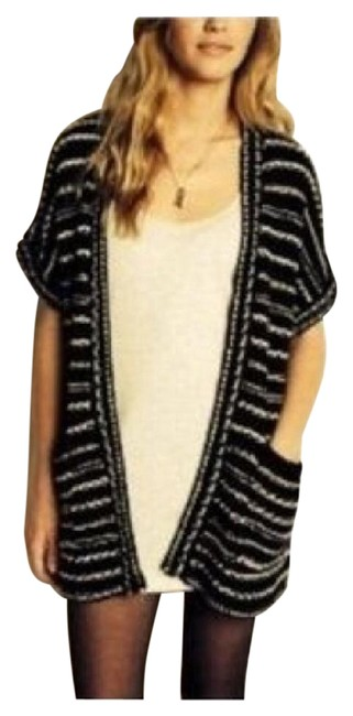 Preload https://img-static.tradesy.com/item/21326294/urban-outfitters-black-white-silence-noise-opened-cardigan-sweaterpullover-size-8-m-0-1-650-650.jpg