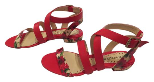 Preload https://img-static.tradesy.com/item/21326372/red-leather-strappy-sandals-size-eu-39-approx-us-9-regular-m-b-0-1-540-540.jpg
