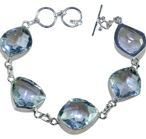 Other New, Gorgeous Green Amethyst Bracelet
