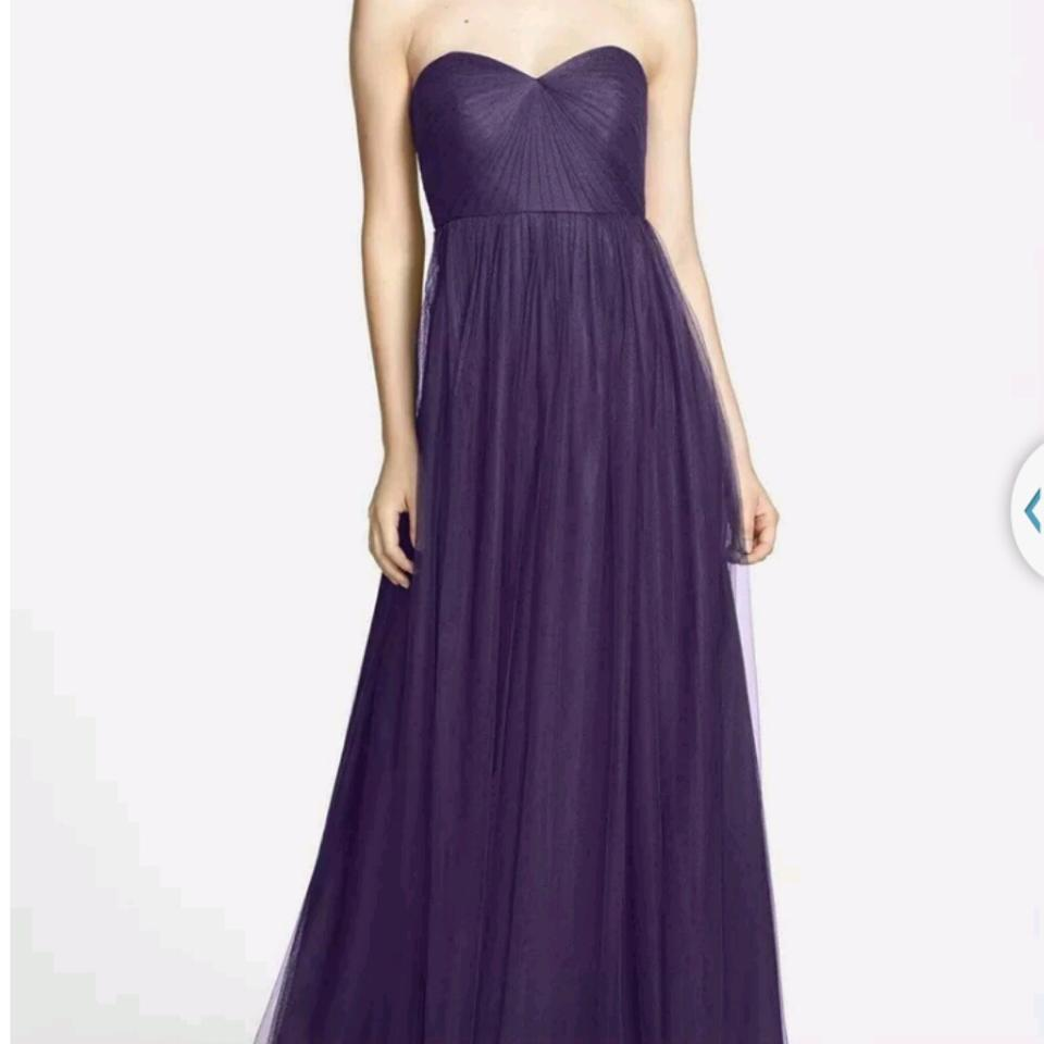 Jenny Yoo Amethyst Tulle Annabelle Formal Bridesmaid/Mob Dress Size ...