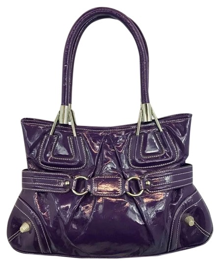 Preload https://img-static.tradesy.com/item/21326491/tiffany-and-fred-purple-patent-leather-tote-0-2-540-540.jpg