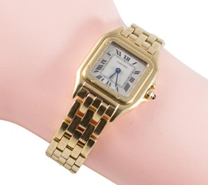 Cartier CARTIER Panthere 18K Gold Panther Classic Watch