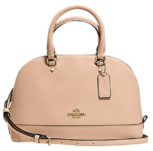 Coach Satchel in Beechwood gold