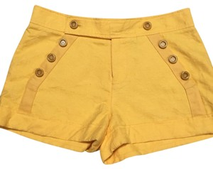 Marc Jacobs Dress Shorts mazy yellow