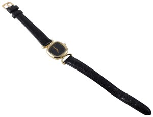 Concord 14K Solid Gold Concord Watch Leather Strap Swiss Movement