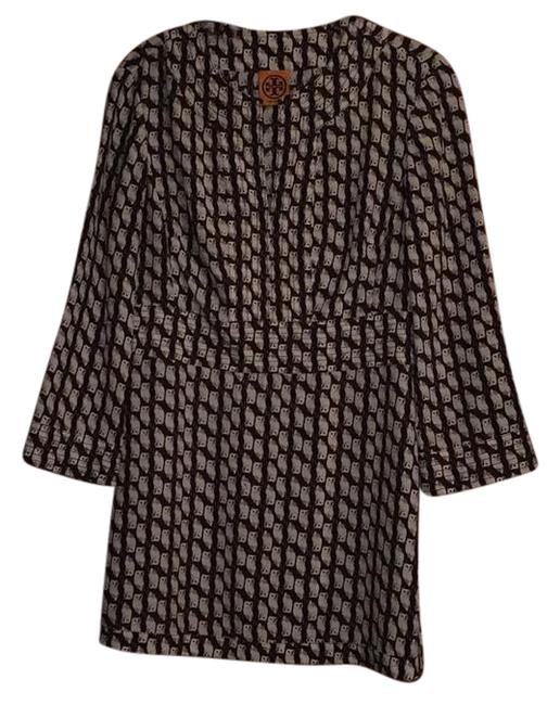 Preload https://img-static.tradesy.com/item/21326912/tory-burch-black-brown-and-white-silk-tunic-size-6-s-0-1-650-650.jpg