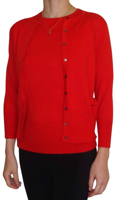 Preload https://img-static.tradesy.com/item/21326972/ann-taylor-red-new-twin-set-sweaterpullover-size-2-xs-0-6-650-650.jpg