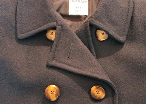 Old Navy Fall Winter Warm Pea Coat