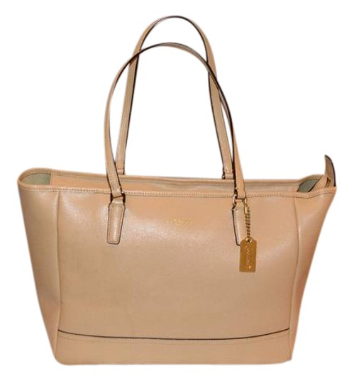 Preload https://img-static.tradesy.com/item/21327047/coach-city-med-ew-23576-camel-saffiano-leather-tote-0-1-540-540.jpg