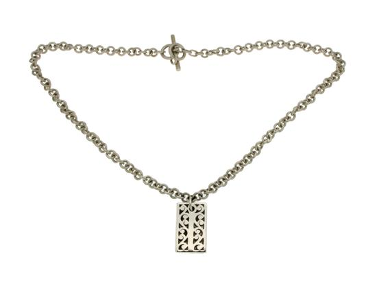 Preload https://img-static.tradesy.com/item/21327108/lois-hill-925-sterling-silver-rectangle-floral-size-17-necklace-0-0-540-540.jpg