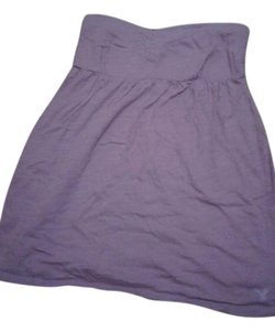 American Eagle Outfitters short dress Purple Womens Strapless Nwt on Tradesy
