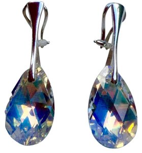 Other New Sterling Silver Clip-on Swarovski Crystals Earrings