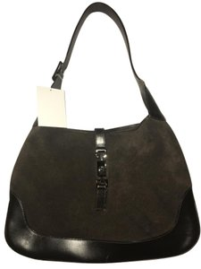 Gucci Suede Leather Jackie Hobo Bag
