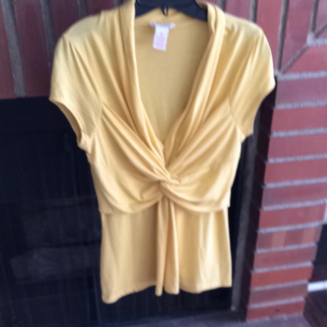 Candie's Top Yellow/Mustard