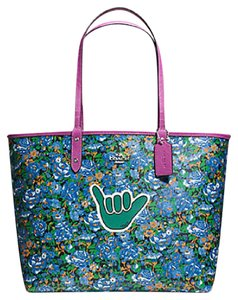 Coach Satchel Shoulder 36126 57669 Tote in multicolor