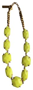 Vince Camuto bold yellow statement necklace