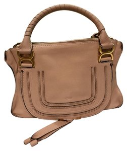 Chloé Satchel in Pink nude