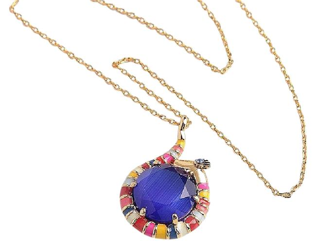 Kate Spade Blue Spice Things Up Snake Mini Pendant Necklace Kate Spade Blue Spice Things Up Snake Mini Pendant Necklace Image 1