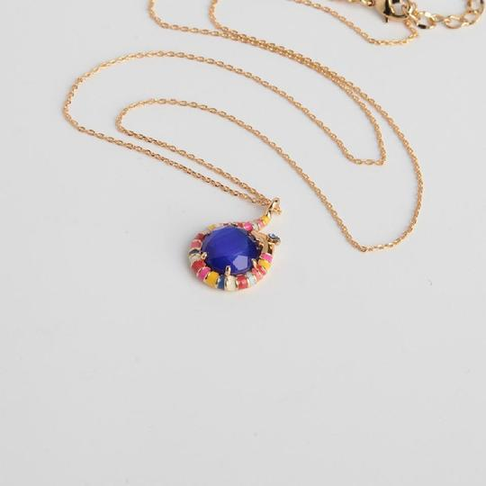 Kate Spade New Kate Spade Spice Things Up Blue Snake Mini Pendant Necklace