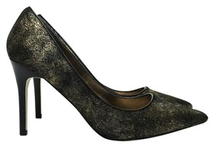Adrianna Papell Metallic Fancy Dress Black, Bronze, Gold Pumps