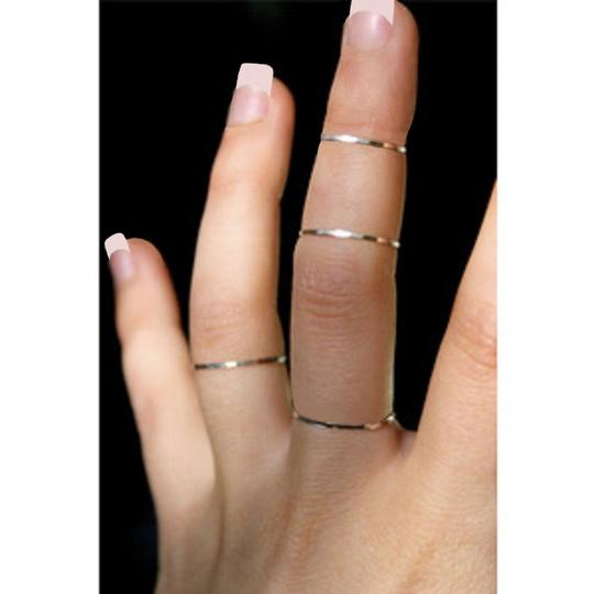 Other wholesale lot 120 sterling silver stackable rings midi knuckle toe etc