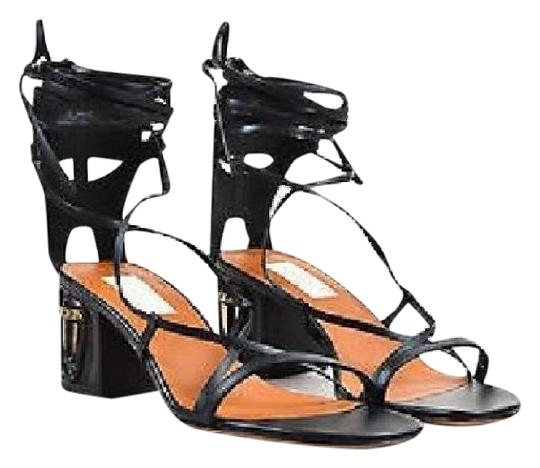 Preload https://img-static.tradesy.com/item/21327911/valentino-black-strappy-mask-gladiator-sandals-size-us-8-regular-m-b-0-1-540-540.jpg