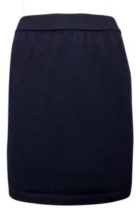 St. John Mini Skirt Navy Blue