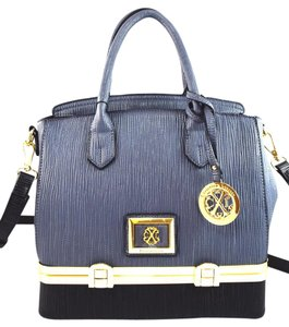 Christian Lacroix Satchel in Grey/Black