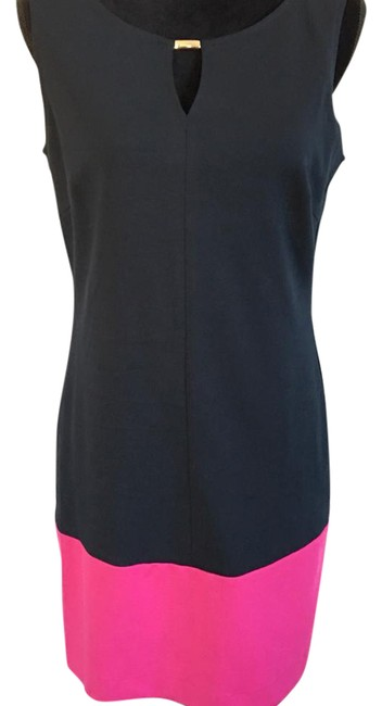 Preload https://img-static.tradesy.com/item/21328313/banana-republic-navypink-color-block-sheath-short-workoffice-dress-size-petite-8-m-0-1-650-650.jpg