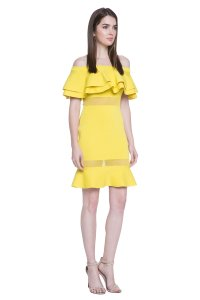 Other Ruffle Bardot Summer Spring Dress