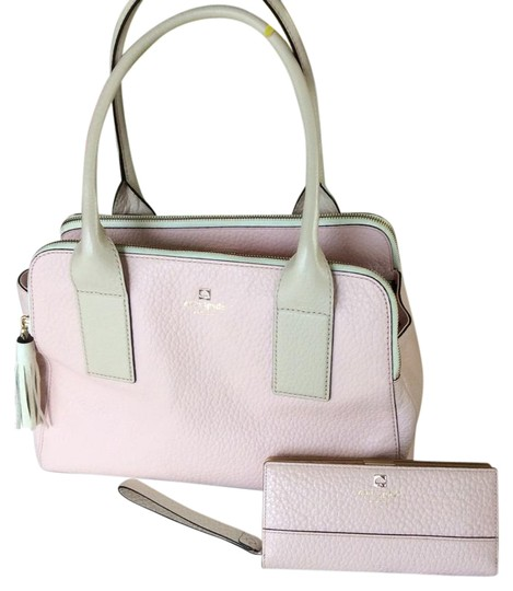 Preload https://img-static.tradesy.com/item/21328340/kate-spade-purse-wallet-bundle-pink-and-cream-pebbled-leather-cross-body-bag-0-1-540-540.jpg