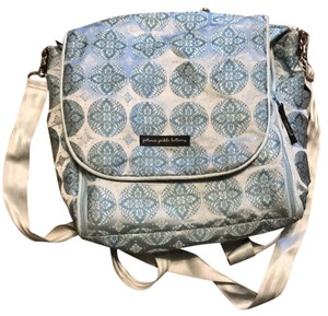 Petunia Pickle Bottom blue Diaper Bag