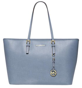 Michael Kors Laptop Travel Tote in Pale Blue