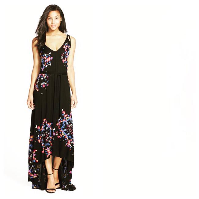 Preload https://img-static.tradesy.com/item/21328692/french-connection-black-pink-blue-white-purple-and-yellow-electric-rays-highlow-long-casual-maxi-dre-0-1-650-650.jpg