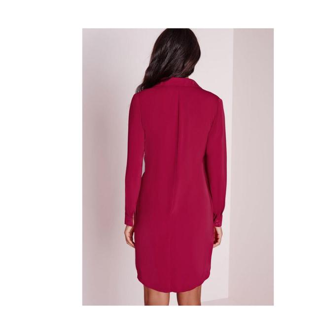 Missguided short dress Vibrant Raspberry on Tradesy