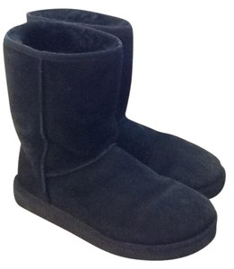 UGG Australia Ugg Leather Nwt Black Boots