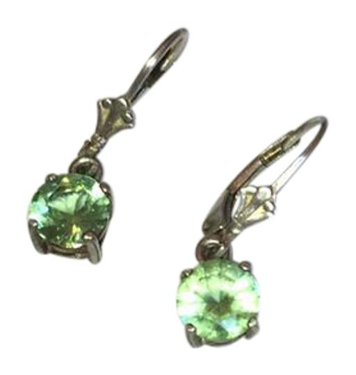 Preload https://img-static.tradesy.com/item/21328857/green-sterling-silver-and-amethyst-dangle-earrings-0-1-540-540.jpg
