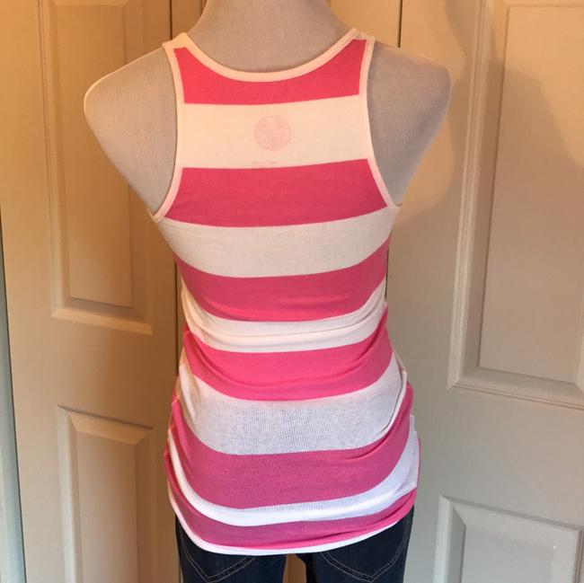Victoria's Secret Top Pink & White