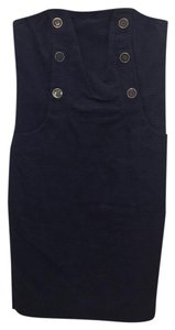 Lilly Pulitzer short dress navy with gold and navy buttons on Tradesy