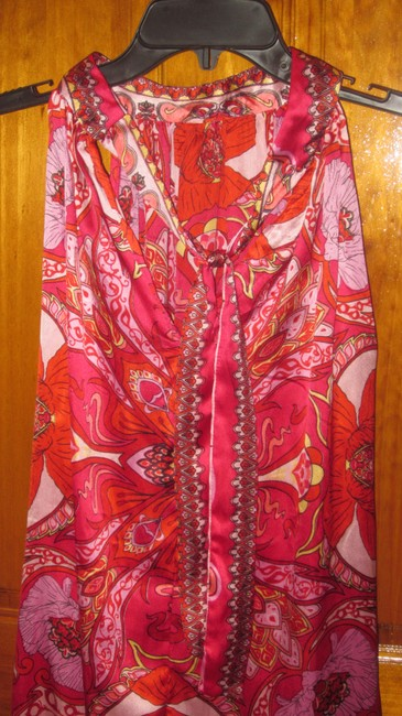 Christine Jacobs short dress red/pink on Tradesy