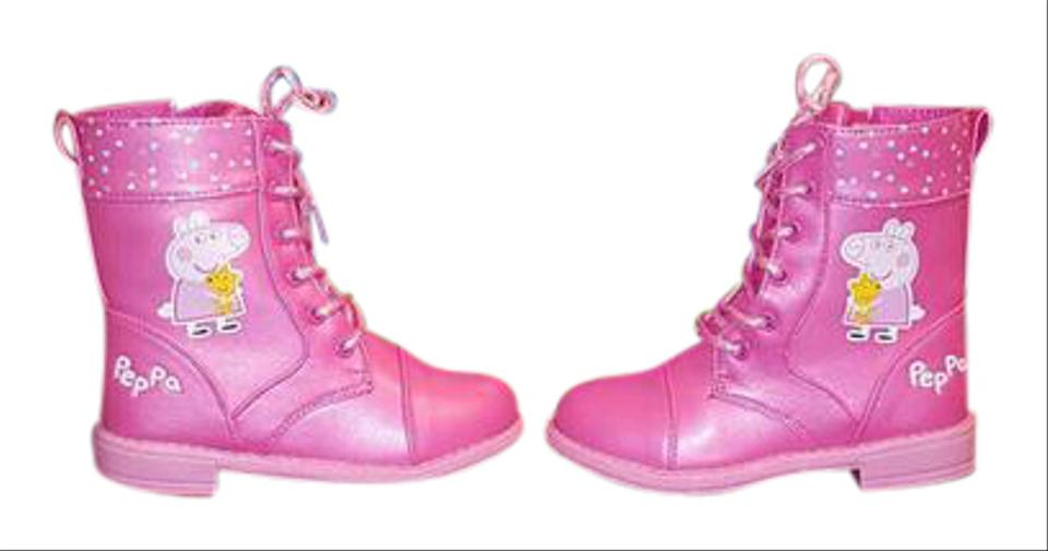Pink Boots Booties