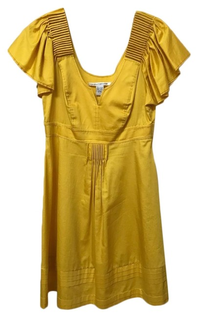 Item - Yellow Mid-length Night Out Dress Size 8 (M)