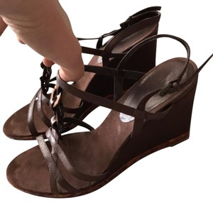 Bandolino brown Wedges