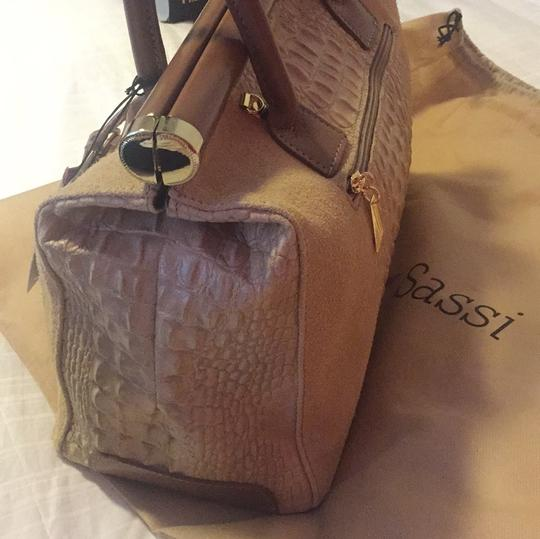 Pia Sassi Satchel in Carmel