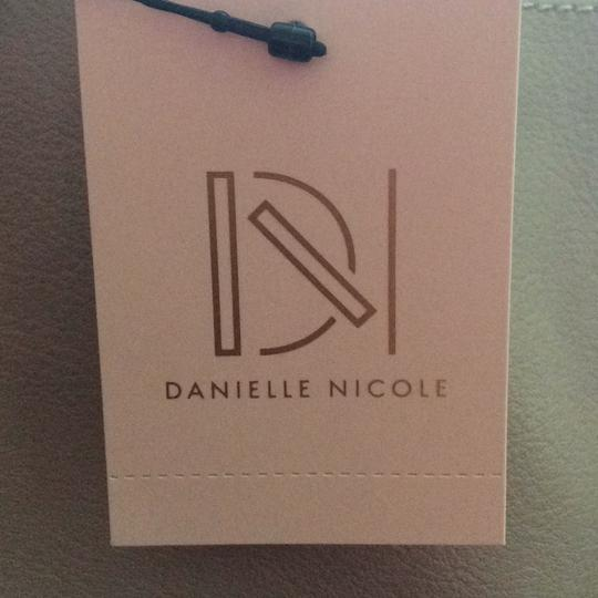 Danielle Nicole Tote in Taupe and pale pink