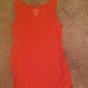 Motherhood Maternity Top Tangerine